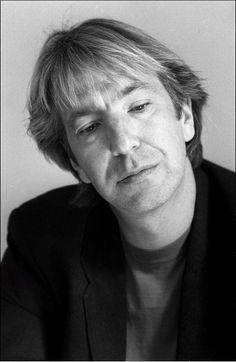 Alan Rickman, 1991 photographed by Roy Jones