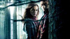 Harry Potter Hermione, Ron Weasley, Harry Potter Movie Characters, La Saga Harry Potter, Harry Potter Shop, Hermione Granger, Hogwarts, Deathly Hallows Part 1, Free Desktop Wallpaper