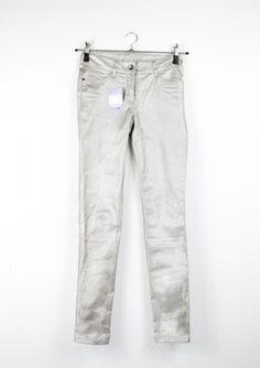 Second Hand Hose, metallic, 7,00€  #secondhand