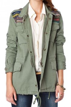 I like the way this looks - I'd get something like this without the crap on the shoulders.