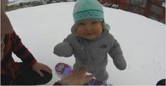 Watch This 14-Month-Old Hit The Slopes Like A Pro! | Hot Moms Club