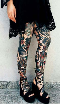 Choose the best designs for you from these top leg sleeve tattoo designs and also explore cool tattoo ideas from our tattoo gallery Trendy Tattoos, Sexy Tattoos, Life Tattoos, Body Art Tattoos, Cool Tattoos, Tatoos, Tattoo Sleeve Designs, Tattoo Designs For Women, Tattoos For Women