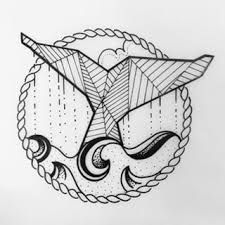 Image result for geometric whale