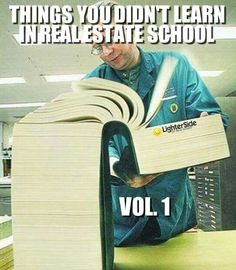 Lol. So true. Hands on experience is the mother of all teaching This is only Vol. 1 LOL!!