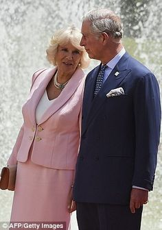 First trip: Charles and Camilla are the first senior royals to visit Columbia since Princess Anne in 1997.