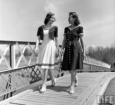 1940s sailor dresses from Life archives