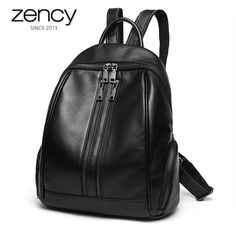 Italy Brand High Quality Genuine Leather Men Fashion Backpack Male ... a493fc491b767