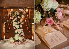 Elegant Pink, White, and Champagne Tennessee Wedding