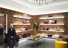 David Chipperfield diseña la nueva flagship store de Bally en Londres #retail #windows #vitrines #vitrinas #escaparates #visualmerchandising Pineado por Pilar Escolano