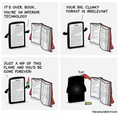 By The Awkward Yeti, via Ebook Porn. I Love Books, Good Books, Books To Read, My Books, Reading Books, Books Vs Movies, Guided Reading, Book Memes, Book Quotes