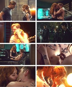 the one && only clace scenes Best Tv Shows, Favorite Tv Shows, Clary Et Jace, Shadowhunter Quotes, Freeform Tv Shows, Shadowhunters Series, Cassandra Clare Books, Jace Wayland, Shadowhunters The Mortal Instruments