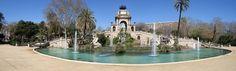 #Barcelona #park #walk #picnic #greenery #Bonavista #trees #palmtrees #watersource #chillout #CiutadellaPark #ParcdelaCiutadella