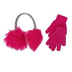SO Faux Fur Pink Glitter Earmuff and Glove Set S.O.S http://www.amazon.com/dp/B00T7YZYHO/ref=cm_sw_r_pi_dp_tVJ4vb13ZWQJ6