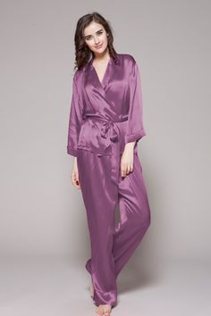 Buy 100 pure and natural womens silk pajamas fa9df697a