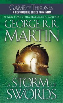 A Storm of Swords (A Song of Ice and Fire, Book - Here is the third volume in George R. Martin's magnificent cycle of novels that includes A Game of Thrones and A Clash of Kings. Game Of Thrones Saison, Game Of Thrones Books, Game Of Thrones Series, Best Books To Read, Good Books, My Books, Amazing Books, George Rr Martin, Lps