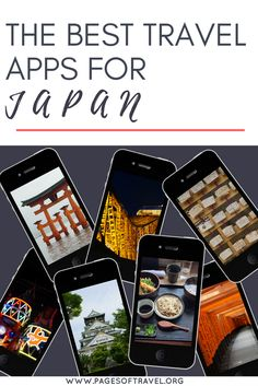 Looking for ways to make your trip to Japan easier? These are some of the best travel apps for Japan! www.pagesoftravel.org