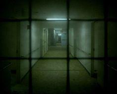 Down a Hallway at Camarillo State Hospital