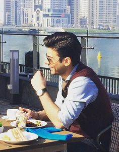 The charming Man with his captivating smile.  #FawadKhan