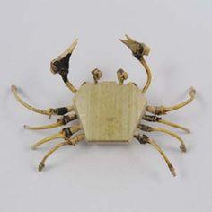 手作り竹細工(蟹)