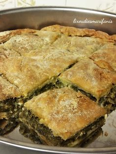 Cookbook Recipes, Cooking Recipes, Greek Sweets, Spanakopita, Aesthetic Food, Greek Recipes, Food And Drink, Pizza, Yummy Food
