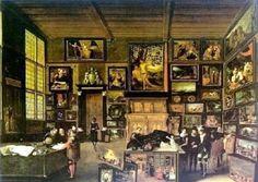 Hieronymus Francken, Cabinet d'amateur de Jan Snellink Frans Francken le Jeune, Galerie d'homme de science, 1612