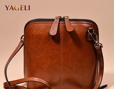 Buy Online 2018 genuine leather women s shoulder bags women s shell crossbody  bag famous brand designer ladies shoulder messenger bags 18e0c32b34b00