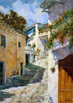 60 Mejores Imágenes De Pintura Oleo De Granada En 2015 Paisajes Al