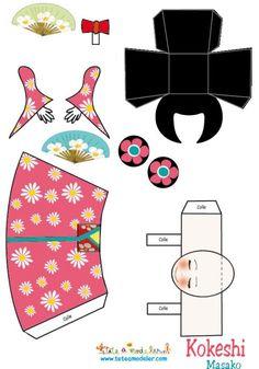 kokeshi craft - Google Search