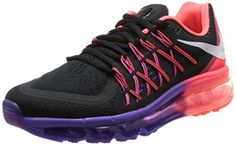 Nike Women's Air Max 2015 Black/White/Hypr Pnch/Hypr Grp Running Shoe 7.5 Women US - Brought to you by Avarsha.com