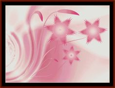 FR-377 - Fractal 377 - All cross stitch patterns - Abstract - Fractals - Graphic Art - Whimsical - Cross Stitch Collectibles