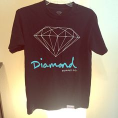 Mens Diamond T-shirt Normal wear; no holes, stains, or tears. 100% Cotton PayPal Accepted Bundles Negotiable Diamond Tops Tees - Short Sleeve