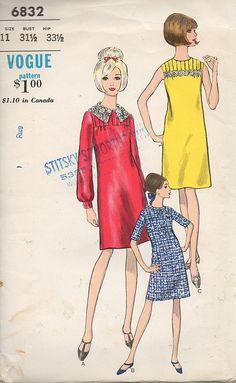 Vintage 60's vogue teen dress