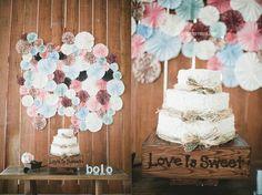 A decoração do casamento de Ju e Fábio {casando no celeiro}