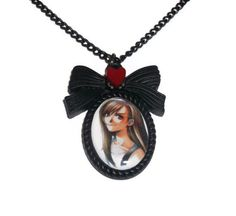 Tifa Lockhart Necklace Cute Final Fantasy by KitschBitchJewellery, $11.99