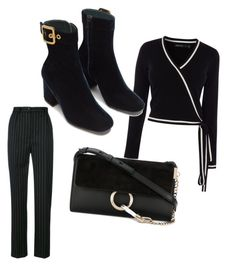 """""""Untitled #18"""" by ljcsh ❤ liked on Polyvore featuring Seen, Karen Millen and Chloé"""