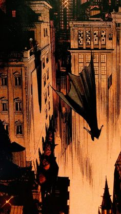 You'll find shots like this only in the world of Batman