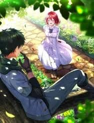 Image result for shirayuki and obi anime