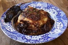 Ancho Chile-Red Wine and Grape Roasted Chicken and Quinoa on http://www.cookingontheweekends.com #chickenrecipes