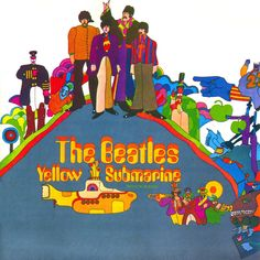 The Beatles - Yellow Submarine. The animation of Yellow Submarine has sometimes falsely been attributed to the famous psychedelic pop art artist of the era, Peter Max; but the film's art director was Heinz Edelmann.