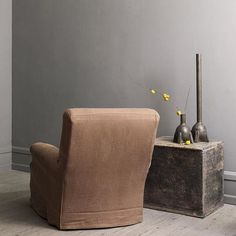 Beautiful minimalistic side table with lot of character - Now on www.1stdibs.com #studioolivergustav