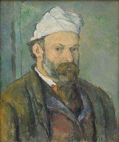 Autoportrait Paul Cézanne, 1880 - Paul Cézanne — Wikipédia