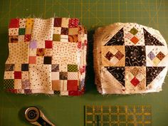 Sue Garman: New Projects, Auctions, Old Quilts... and More!   Looks like the Oh My Gosh quilts