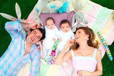 ¡Cuánto han crecido! Elizabeth Álvarez y Jorge Salinas protagonizan tierna foto al lado de su mellizos
