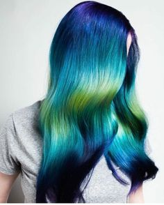 Purple violet red cherry pink bright hair colour color coloured colored f. Bright Hair Colors, Hair Color Purple, Green Hair, Blue Green, Teal Orange, Dark Blue, Light Blue, Colours, Pulp Riot Hair Color
