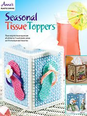 Needlework Plastic Canvas - Seasonal Tissue Toppers Plastic Canvas Pattern - #888118