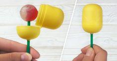 DIY Life Hacks & Crafts : 23ingenious parenting tricks tomake your life easier. Also use a kinder egg