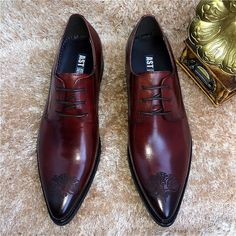 b56da801d4e Liqian168 New Business Men Casual Shoes Handmade Breathable Comfortable  Jeans Brand Men Shoes Leather Flat Men Oxfords Formal Shoes Shoe Boat Shoes  From ...