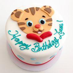 Daniel The Tiger Cake | Baby Bea's Bakeshop                              …