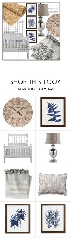 """""""my dream bedroom"""" by luvfashn ❤ liked on Polyvore featuring interior, interiors, interior design, home, home decor, interior decorating, WALL, Williams-Sonoma, Aidan Gray and L.L.Bean"""