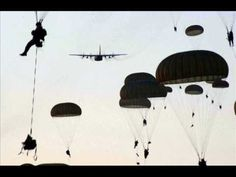 The United States Army Airborne School — widely known as Jump School — conducts the basic paratrooper (military parachutist) training for the United States a. Army Love, Us Army, The Warrior Song, 101st Airborne Division, My War, Rotc, Band Of Brothers, Paratrooper, United States Army